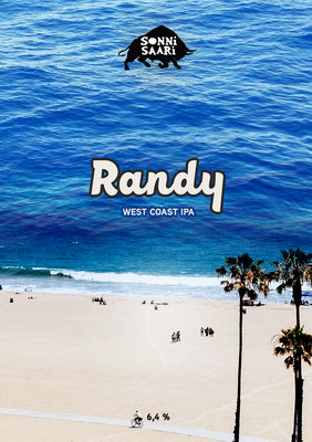 GROWLER Randy West Coast IPA 6,4% 1 l